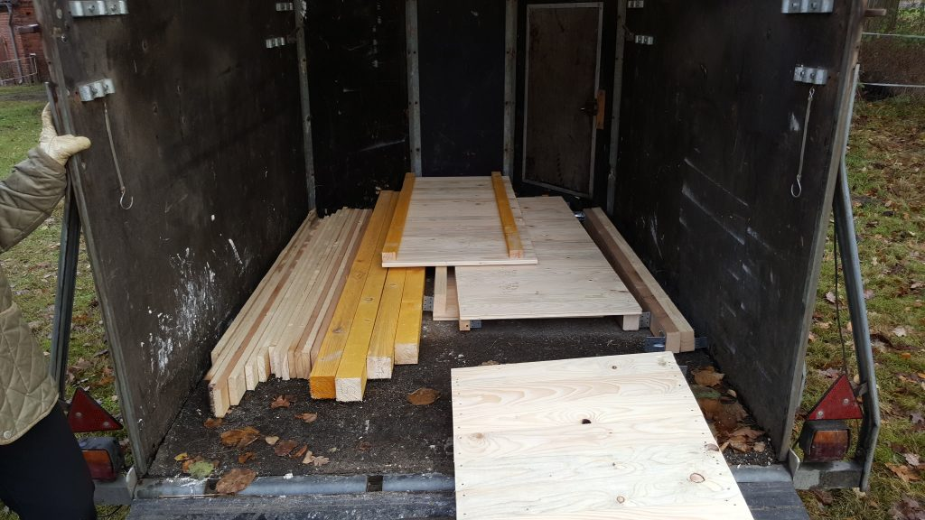 Bausatz ala Möbelhaus